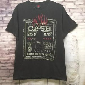 ZION Rootswear JOHNNY CASH THE MAN IN BLACK